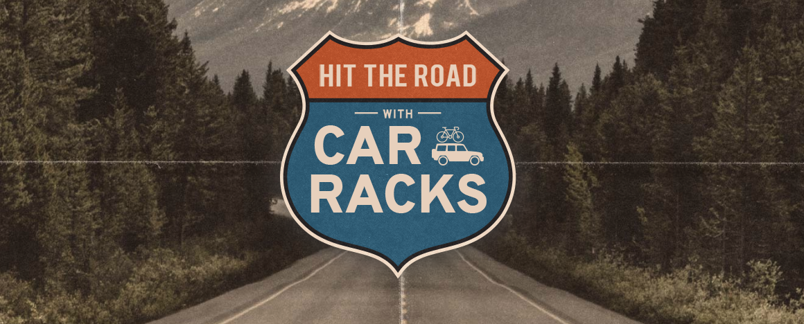 Hit the road with new bicycle car rack